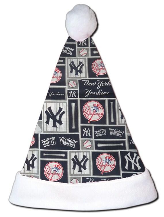 NEW MLB New York Yankees Christmas Baseball Santa Hat  5f10e5e29f62