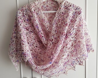 Crochet shawl pattern,Summer Breeze Lace Crochet Shawl,Crochet Wrap Pattern,Crochet scarf,Lace stole pattern,Crochet throw pattern US terms
