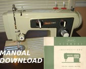 items similar to sears kenmore model 1303 sewing machine owners rh etsy com sears kenmore stove owners manual sears kenmore refrigerator owners manual