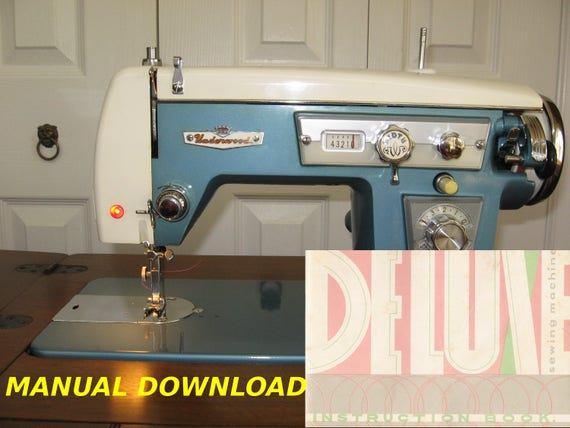 Underwood 40 Sewing Machine Owners Manual Wizard Brother 40 Etsy Classy Thompson Sewing Machine Manual