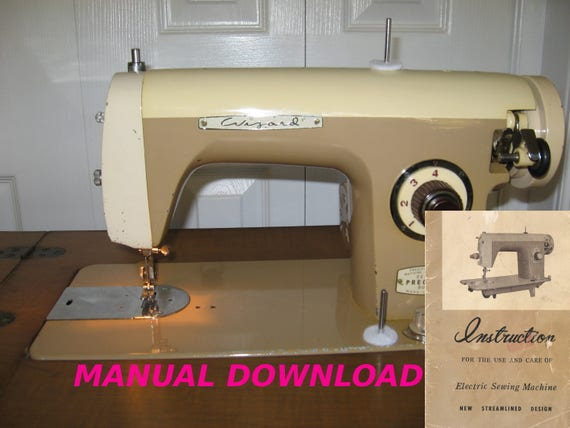 Wizard Sewing Machine Owners Manual White Brother Morse Etsy Stunning Brother Ja 28 Sewing Machine Manual