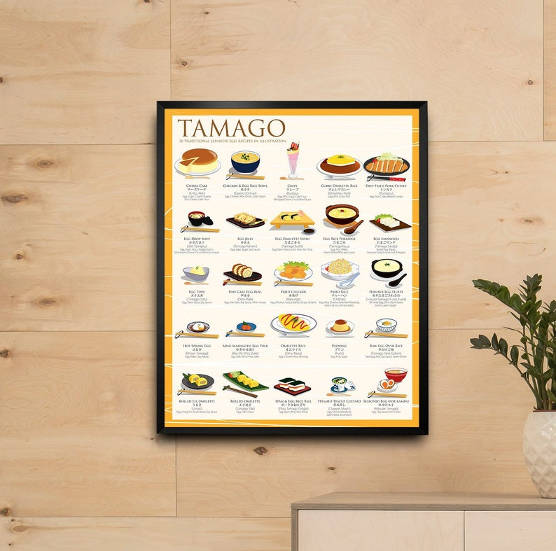 Tamago Poster 25 Traditional Egg Recipes image 0