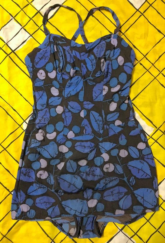 Vintage 1950s Hourglass Swimsuit Rose Marie Reid P