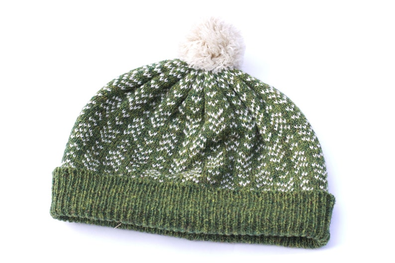 28f5e7ff57c Green winter hat Autumn hat Womens wool hat Mens wool hat