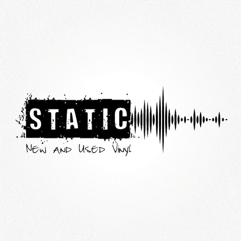 Record Store Logo Design | Audio Tech Logo | Branding For A Record Seller |  Sound Wave Logo | Music Graphic | Sound Logo | Audio Logo