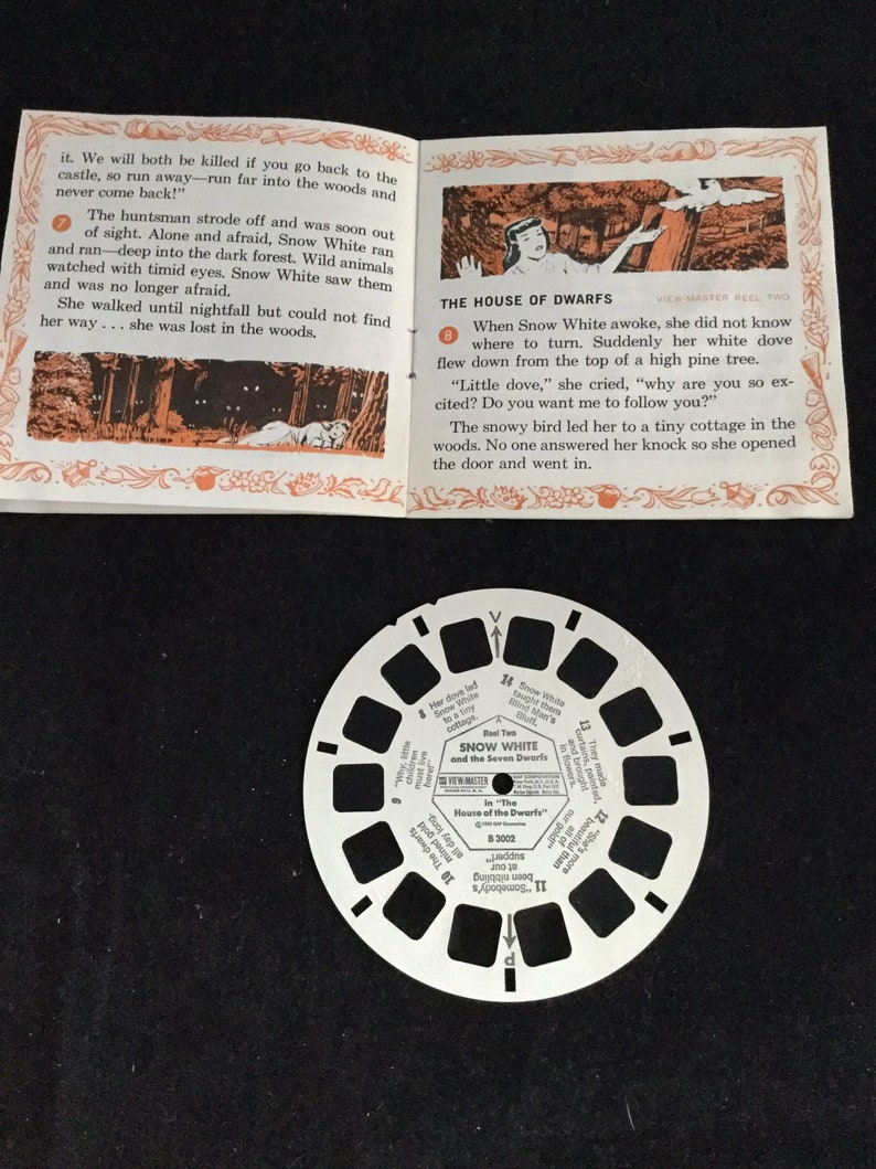 A ViewMaster Picture Presentation Walt Disney Presents Sleeping Beauty with 3 Reels  1959