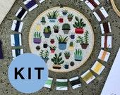 Botany - Modern cross stitch kit