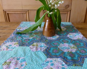 Pretty Patchwork Table Topper 58x35.5cm