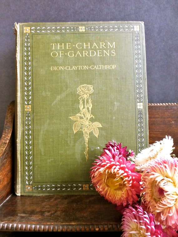 The Charm of Gardens by Dion Clayton Calthrop Adam & Charles | Etsy