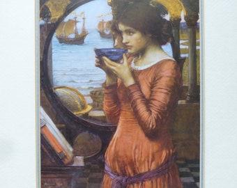 Vintage Pre Raphaelite Print 'Destiny' by J W Waterhouse
