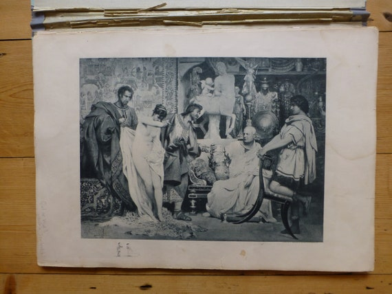Antique The Gallery of Modern Etchings including 10 Prints J S Virtue /& Co C.1890