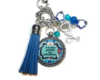Keychain, bag charm has the most amazing nurses