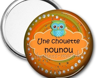Pocket mirror a great year end gift/nanny