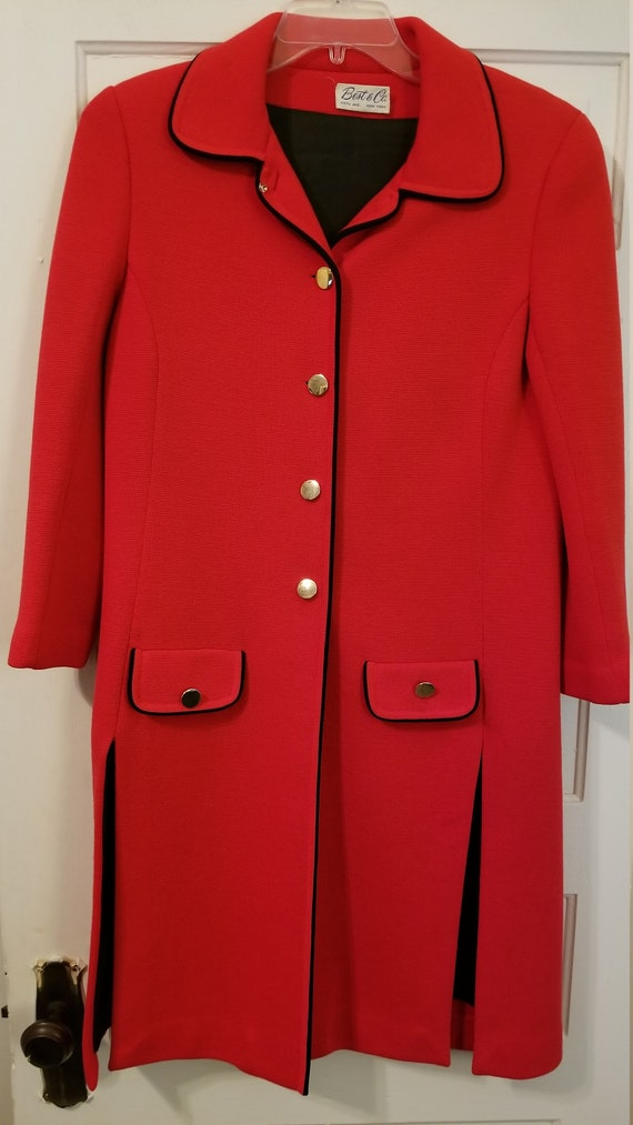Vintage wool dress coat/jacket