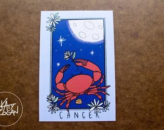 Crab tarot | Etsy