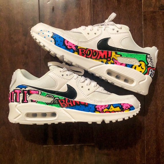 Custom Nike Air Max 90   Etsy