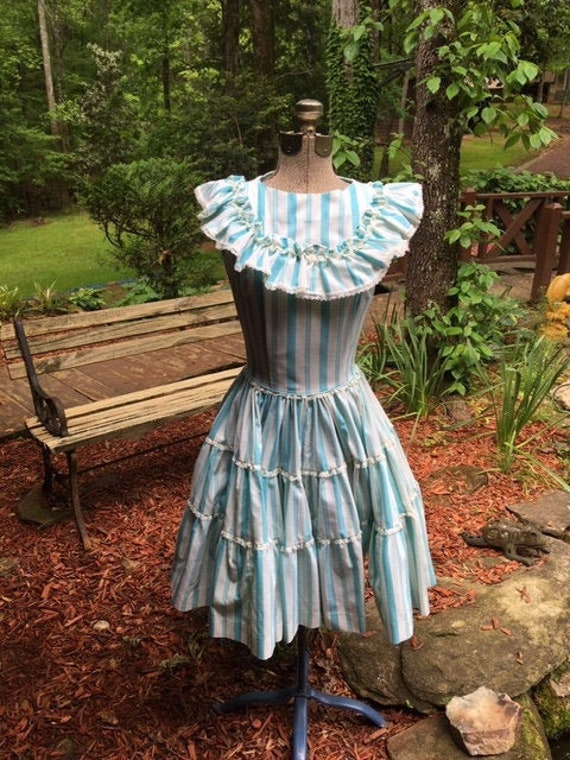Vintage Rockabilly Square Dance Dress