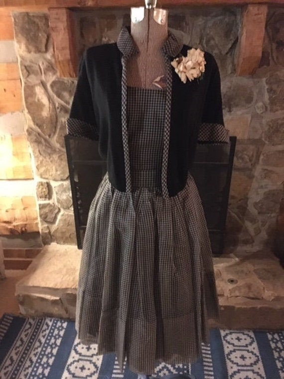Vintage Party Dress with Jacket and Belt