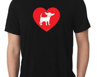 Love Chihuahua T-Shirt T124