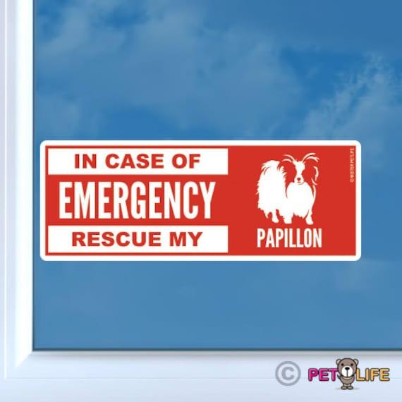 Mister Petlife Papillon Sticker Vinyl Auto Window