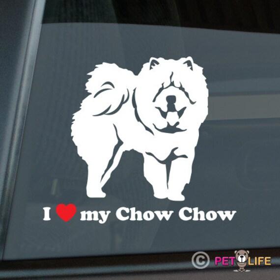 Got Chow Chow Sticker Die Cut Vinyl