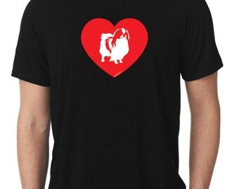 Love Japanese Chin T-Shirt T747
