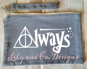 Always Harry Potter Inspired Makeup Bag