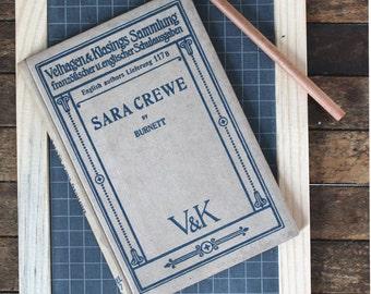 Sara Crewe By Frances Hodgson Burnett. Published 1914 Velhagen & Klasings Sammlung (text English)