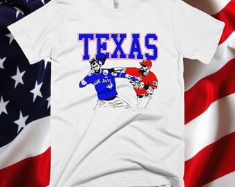 Texas Rangers Inspired Punch T-Shirt