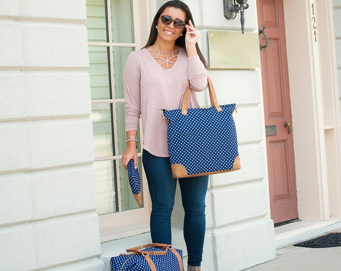 Charlie Dot Collection - Viv & Lou Travel Bags