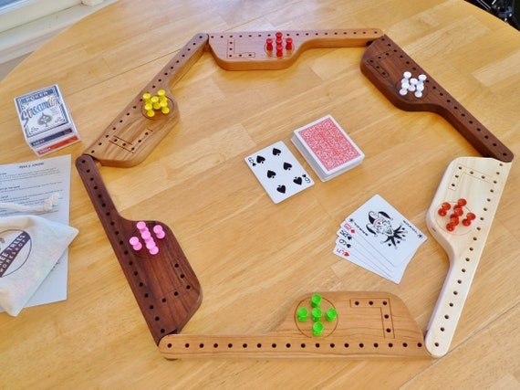 Pegs And Jokers For 4 6 Or 8 Players With
