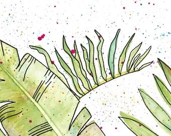 Splatter Leaves