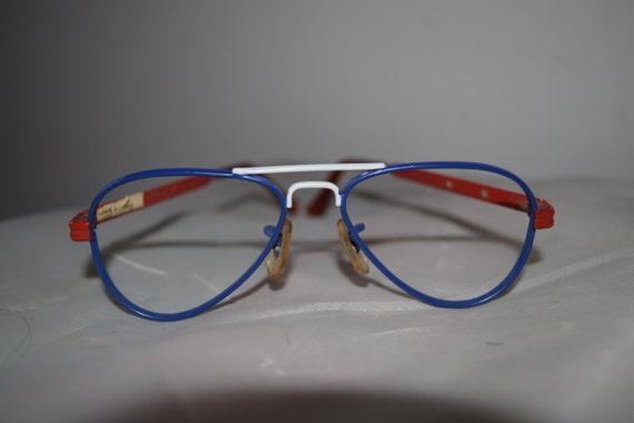 "Peter Max/Tura Vintage Children's ""Saturn"" Eyeglas"