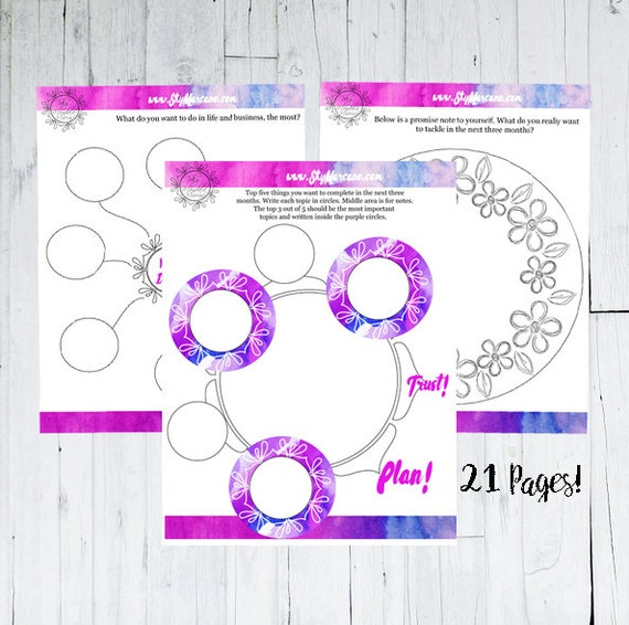 picture regarding New Year's Worksheets Printable named Fresh Yrs Resolutions - Calendar year Planner - Option Principle - 2018 - Objectives Worksheet - 2018 Printable - Aspiration Board - Fresh new Many years Eve Celebration Recreation