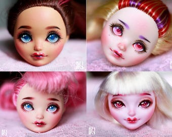 custom monster high doll etsy