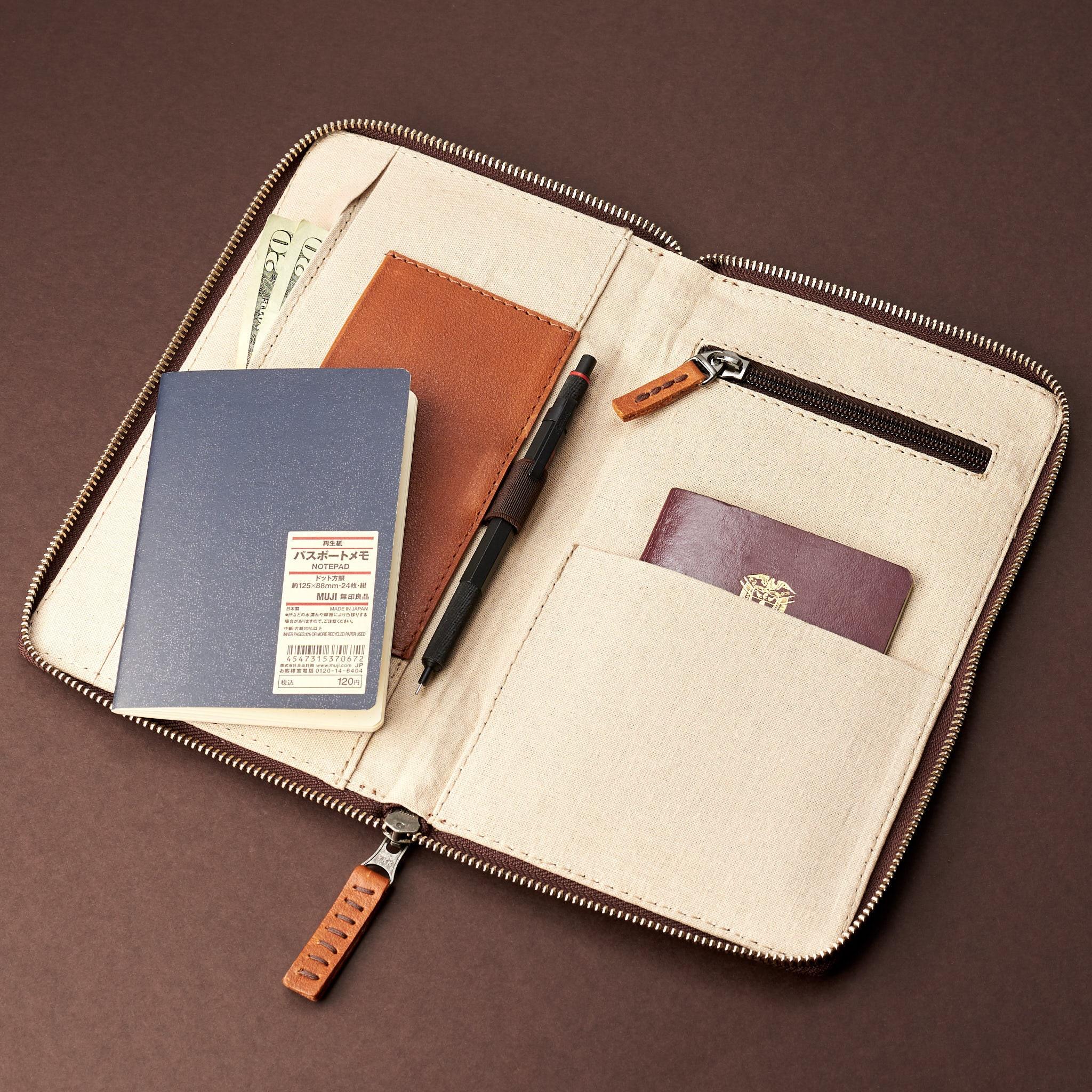 01b18e5d3e4f Tan Leather Travel Document Organizer, Men Passport Wallet, Personalized  Passport Holder, Customized Passport Cover. Monogram Mens Gifts