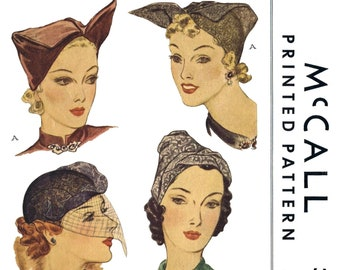 1690 Vintage McCALL/'s HAT /& Bag Fabric Sewing Pattern Millinery Chemo Cancer Headcover Alopecia Pdf Copy PDF Digital Download Delivery ONLY