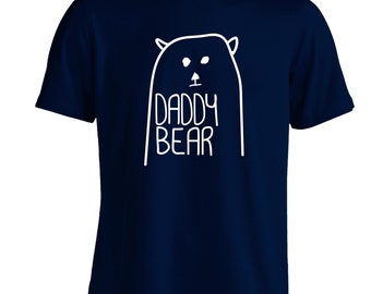 035e4cf6 Daddy Bear t-shirt cute son daughter matching family mother father animal  paw tumblr hipster instagram gift Father's Day 4565