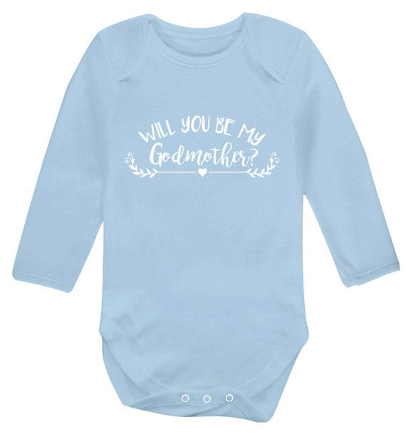 Flox Creative Long Sleeved Baby Vest My Auntie Sends me Kisses from Overseas