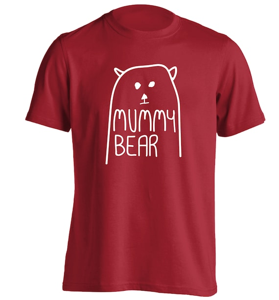 hoodie //sweatshirt Father/'s Day matching family group hipster  4565 Daddy Bear