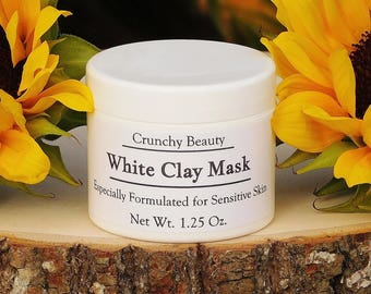 Spa - Face Mask - Facial - Kaolin Clay Mask - Organic Clay Mask - Best Face Mask - Sensitive Skin - Dry Skin- Combination Skin