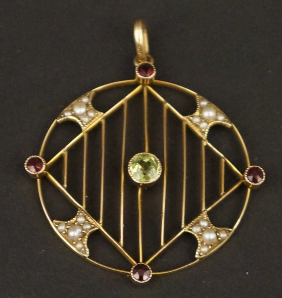 9ct Gold Edwardian Suffragette Brooch