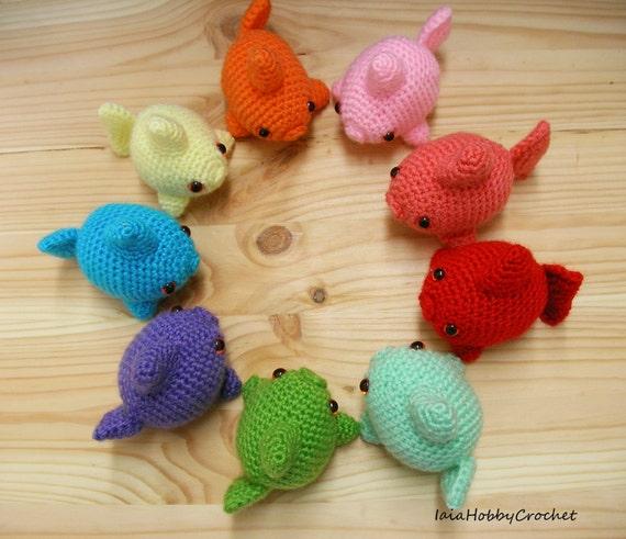Amigurumi Fisch Fisch Häkeln Amigurumi Goldfisch Amigurumi Etsy