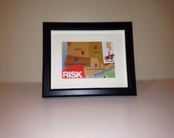 Risk Shadowbox Art - Large, Landscape Orientation (USA/Canada)