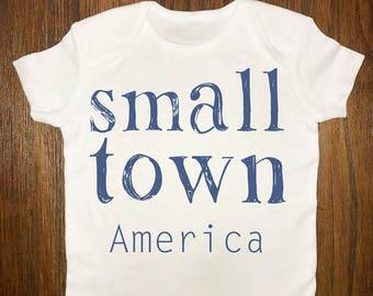 small town america-onesie