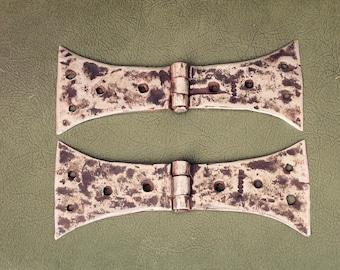 Antique Hinges, Rustic Hinges, Decorative Hinges, Antique Door Hinges, Iron Hinges, French Antique, Ornamental Hinges