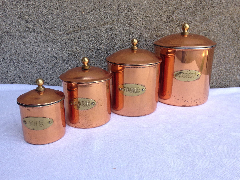 Küchen Kanister Kanister Kanister Set Französisch Jahrgang