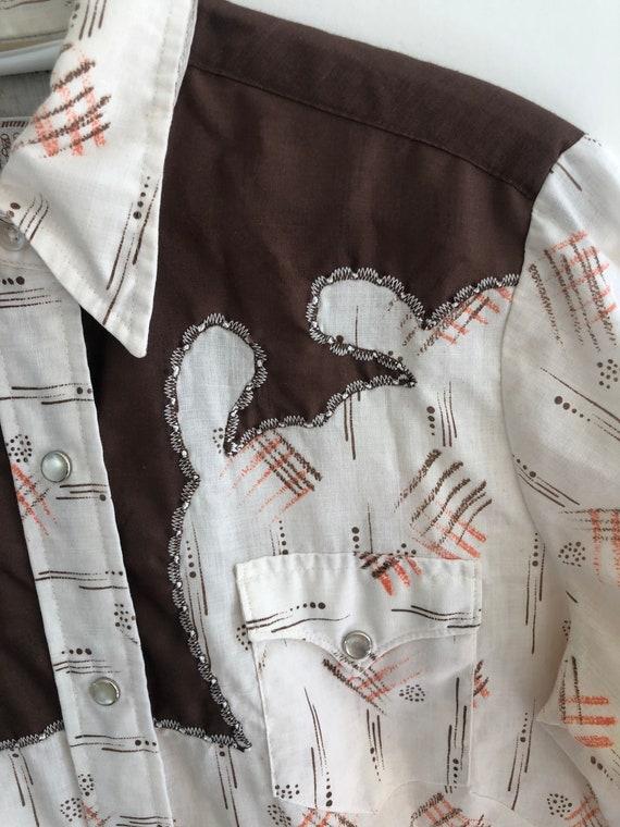 Vintage H Bar C western blouse - image 3
