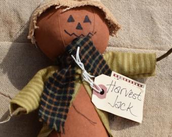 Harvest Jack Pumpkin Doll