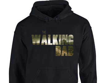 5dc67c26efa74e The Walking Dad - The Walking Dead Parody - Adult Heavy Blend Hoodie - Sizes  S-5XL in 21 colors